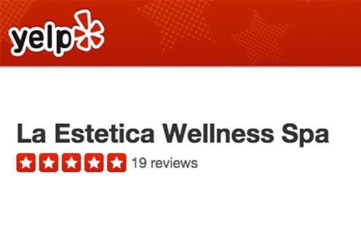 La Estetica Yelp Reviews