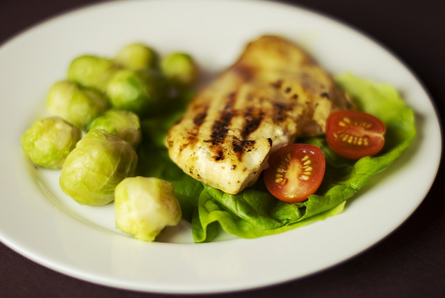 healthly chicken meal