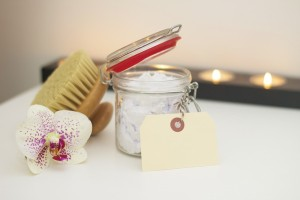 skin care products and spa treatments